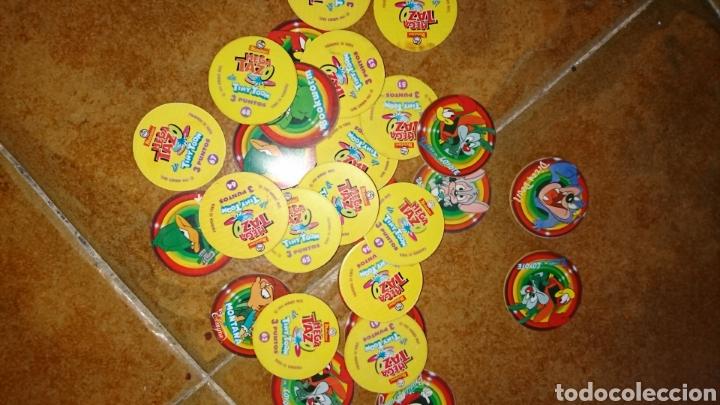 Juegos antiguos: Excelente lote 28,juego de tazos, año 1994,mega tazo tinytoon - Foto 4 - 223566836