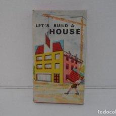 Juegos antiguos: JUEGO DE CONSTRUCCIONES, LET´S BUILD A HOUSE, NR 623, PIATNIK WIEN 1966. Lote 223851452
