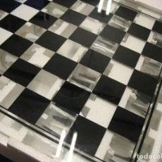 Juegos antiguos: AJEDRES DE CRISTAL CON COPAS. Lote 225208260