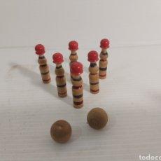 Juegos antiguos: MINI JUEGO DE BOLOS. Lote 225967582