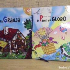 Juegos antiguos: 2 LIBROS PARA JUGAR,VIVE UNA AVENTURA.POP UP. Lote 226894165