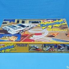 Juegos antiguos: CENTRO DE PRUEBAS - CRACK-UPS - HOT WHEELS - MATTEL. Lote 230178830