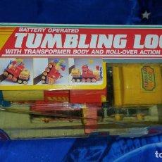 Juegos antiguos: TUMBLING LOCO TREN PLAYWELL 1989 VINTAGE MUY RARO NUEVO. Lote 232157365