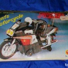 Juegos antiguos: STUNTS MOTORCYCLE PIONEER VINTAGE CHI LANG TAIWAN. Lote 232159390