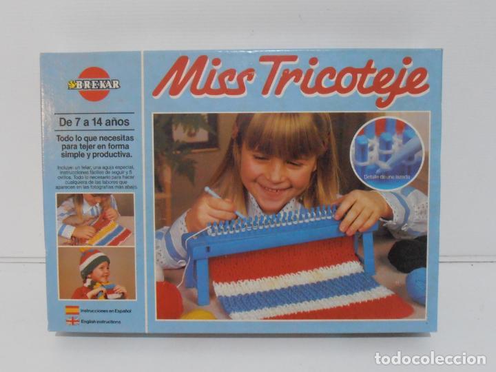 Juegos antiguos: JUEGO MISS TRICOTAJE, BREKAR, COMPLETO CASI SIN JUGAR, AÑOS 70 - Foto 3 - 232791405