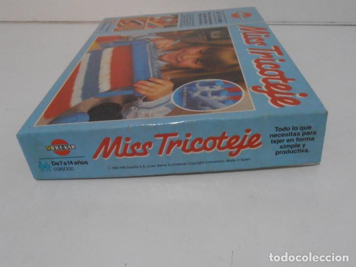 Juegos antiguos: JUEGO MISS TRICOTAJE, BREKAR, COMPLETO CASI SIN JUGAR, AÑOS 70 - Foto 6 - 232791405