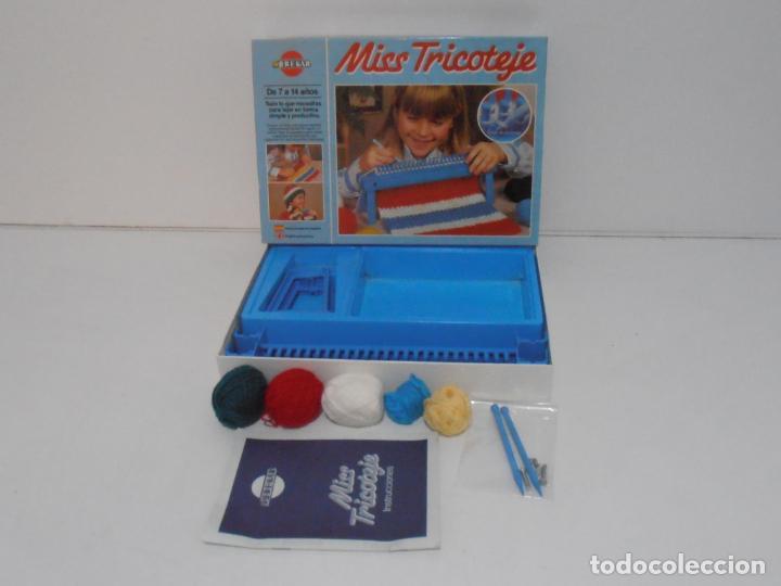 Juegos antiguos: JUEGO MISS TRICOTAJE, BREKAR, COMPLETO CASI SIN JUGAR, AÑOS 70 - Foto 9 - 232791405