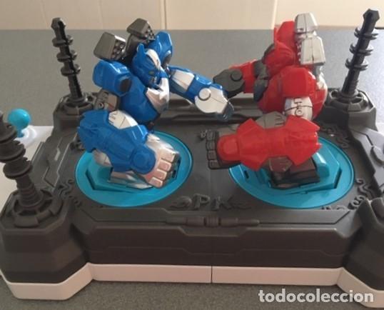 Juegos antiguos: Juguete robot de combate PK. 2 jugadores - Foto 2 - 233065040