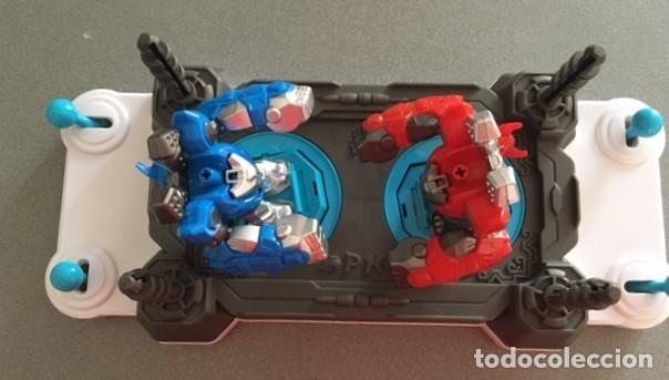 Juegos antiguos: Juguete robot de combate PK. 2 jugadores - Foto 3 - 233065040