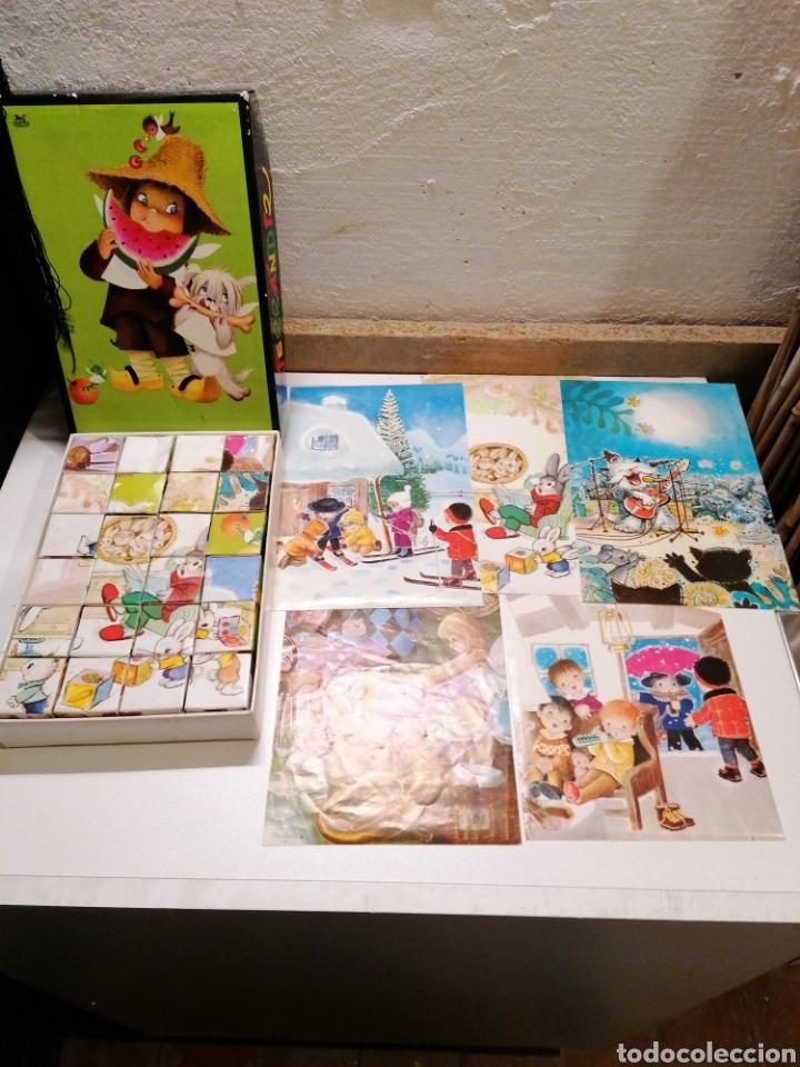 Juegos antiguos: ANTIGUO ROMPECABEZAS CON DIBUJOS DE FERRANDIZ - Foto 2 - 234681345