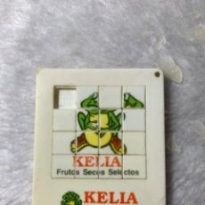 Juegos antiguos: ROMPECABEZA DE PUBLICIDAD DE PIPAS KELIA.. Lote 235075530