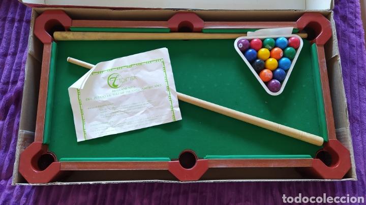 Juegos antiguos: MINI BILLAR AMERICANO INFANTIL TOIMSA - EN CAJA - Foto 3 - 235503555