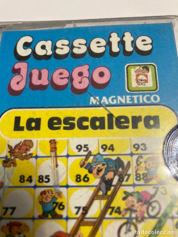 Juegos antiguos: Cassete Juego magnetico ,La escalera , CJ-11 Chicos,cinta, magnetico Juego,de viaje.feber - Foto 3 - 176607873
