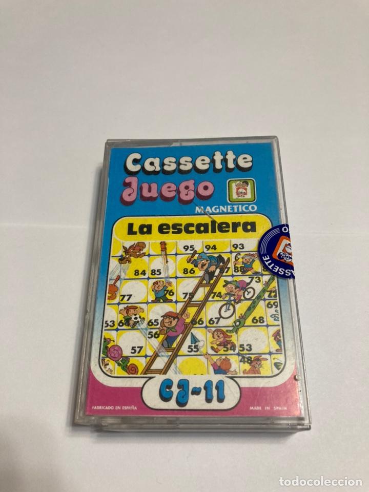 CASSETE JUEGO MAGNETICO ,LA ESCALERA , CJ-11 CHICOS,CINTA, MAGNETICO JUEGO,DE VIAJE.FEBER (Juguetes - Juegos - Otros)