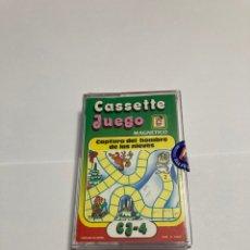 Juegos antiguos: CASSETE JUEGO MAGNETICO ,CAPTURA DEL HOMBRE DE LAS NIEVES, CJ-14 CHICOS,CINTA, FEBER. Lote 176608310