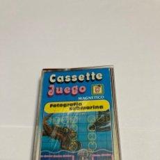 Juegos antiguos: CASSETE JUEGO MAGNETICO. SALTO EN PARACIDAS, CJ-3 CHICOS,CINTA,FEBER. Lote 176608487