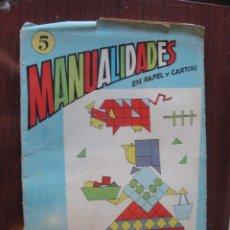 Juegos antiguos: MANUALIDADES EN PAPEL Y CARTON SALVATELLA 3 - MOSAICO GEOMETRICO. Lote 236274030