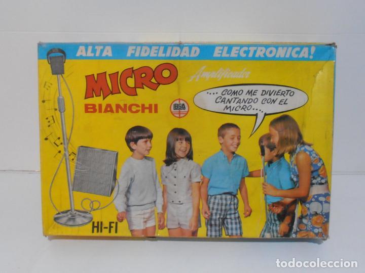 Juegos antiguos: MICRO BIANCHI ALTA FIDELIDAD ELECTRONICA, AÑOS 70 MADE IN SPAIN - Foto 5 - 236432795