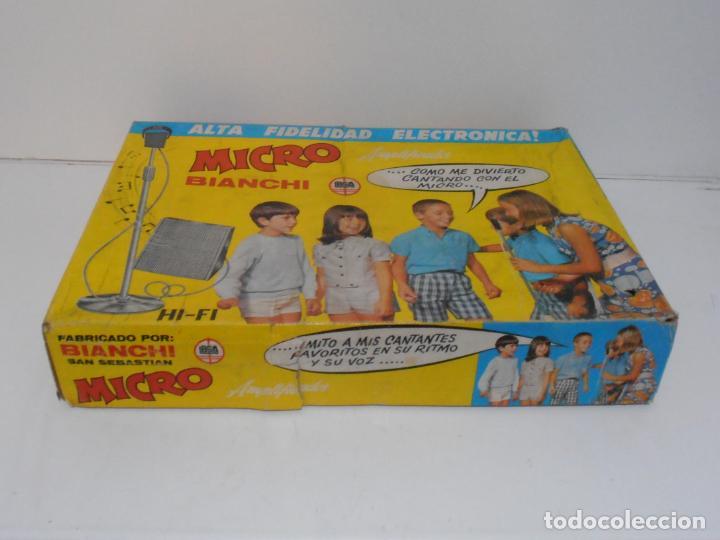Juegos antiguos: MICRO BIANCHI ALTA FIDELIDAD ELECTRONICA, AÑOS 70 MADE IN SPAIN - Foto 6 - 236432795