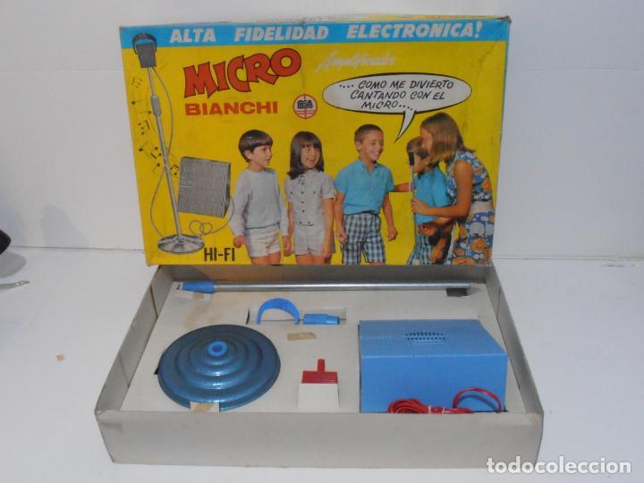 MICRO BIANCHI ALTA FIDELIDAD ELECTRONICA, AÑOS 70 MADE IN SPAIN (Juguetes - Juegos - Otros)