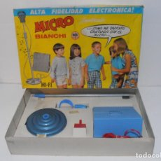 Juegos antiguos: MICRO BIANCHI ALTA FIDELIDAD ELECTRONICA, AÑOS 70 MADE IN SPAIN. Lote 236432795