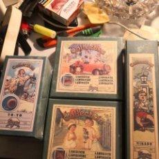 Juegos antiguos: PACK DE 4 JUEGOS COLECCIONABLES. COLLECTION MIKADO. REPRODUCCIÓN DE JUEHOS AÑOS 20. NUEVOS SIN ABRIR. Lote 245498940