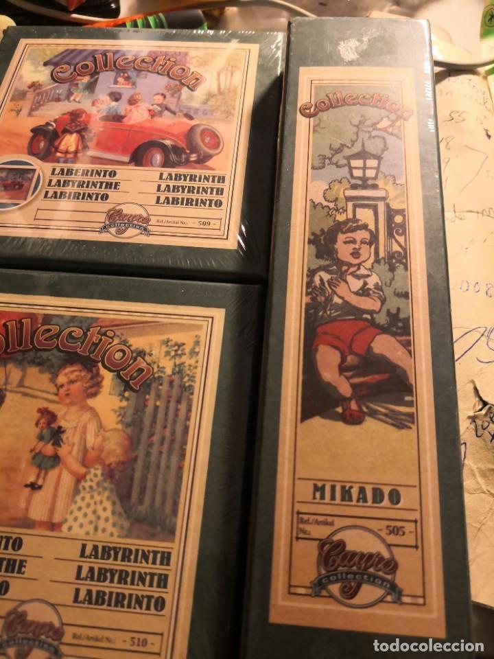 Juegos antiguos: Pack de 4 juegos coleccionables. Collection MIKADO. REPRODUCCIÓN DE JUEHOS AÑOS 20. Nuevos sin abrir - Foto 4 - 245498940