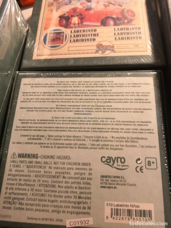 Juegos antiguos: Pack de 4 juegos coleccionables. Collection MIKADO. REPRODUCCIÓN DE JUEHOS AÑOS 20. Nuevos sin abrir - Foto 5 - 245498940