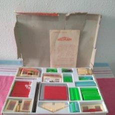 Jogos antigos: CONSTRUCCIONES MOLTPLAST AÑOS 60. Lote 246940505