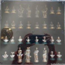 Juegos antiguos: PRECIOSO JUEGO DE DAMAS. Lote 247494050