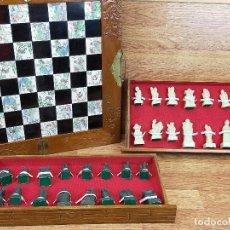 Juegos antiguos: AJEDREZ. EIGHT FAIRIES CHESS & BOARD EN CAJA. Lote 247667220