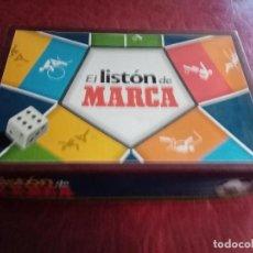 Juegos antiguos: EL LISTÓN DE MARCA Y CARTAS O CROMOS DE FUTBOL. Lote 251576035