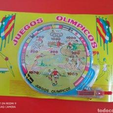 Juegos antiguos: BILLARÍN DE BOLSILLO (11 CM) JUEGOS OLÍMPICOS.PIQUÉ 70S.NUEVO.. Lote 255502110