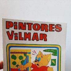 Juegos antiguos: CUADERNO DE DIBUJO COLOREAR PINTORES VILMAR TOM Y JERRY AÑOS 80 VINTAGE. Lote 257613445