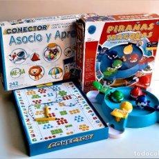 Juegos antiguos: DOS JUEGOS VARIOS. Lote 261602965