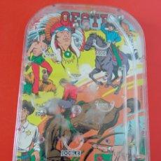 Juegos antiguos: BILLARÍN OESTE INDIOS Y VAQUEROS (18,5X11,5).PIQUÉ 70S.SIN USO.. Lote 262351490