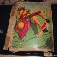 Juegos antiguos: ROMPECABEZAS DE CUBOS DE CARTÓN,EL CUENTO DEL OGRO,CAJA ORIGINAL,AÑO 1937. Lote 266537228