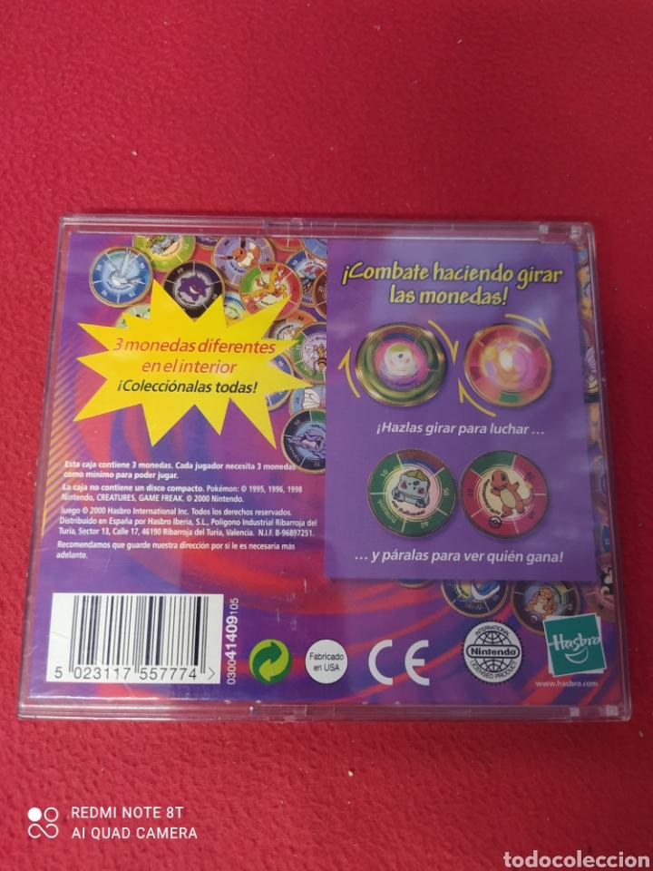 Juegos antiguos: POKEMON JUEGO DE MONEDAS DE COMBATE - Foto 2 - 269028129