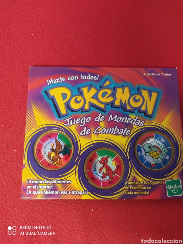 Juegos antiguos: POKEMON JUEGO DE MONEDAS DE COMBATE - Foto 3 - 269028129
