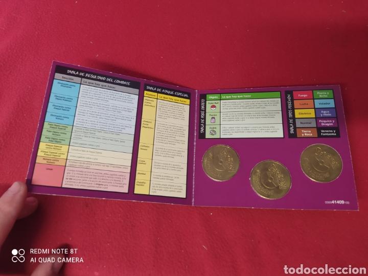 Juegos antiguos: POKEMON JUEGO DE MONEDAS DE COMBATE - Foto 5 - 269028129