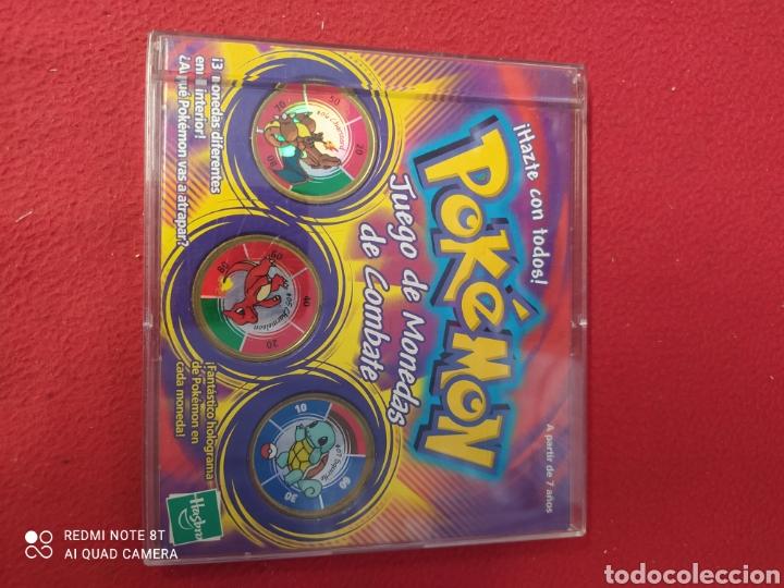 POKEMON JUEGO DE MONEDAS DE COMBATE (Juguetes - Juegos - Otros)