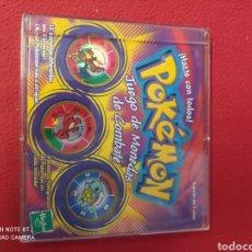 Juegos antiguos: POKEMON JUEGO DE MONEDAS DE COMBATE. Lote 269028129