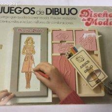 Giochi antichi: JUEGO DISEÑO DE MODA – JUEGOS DE DIBUJO INFANTIL – AÑOS 80. Lote 269356903