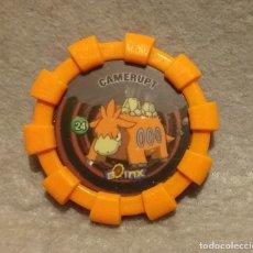 Juegos antiguos: TAZO BOINX POKEMON NINTENDO - Nº 24 . * CAMERUPT * - TAZOS CHEETOS CHIPICAO AÑO 2007 - BUEN ESTADO.. Lote 271458288