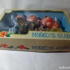Juegos antiguos: FAMOSA MUÑECOS GUIÑOL CAPERUCITA ROJA EN SU CAJA SIN USO AÑOS 70. Lote 275562183