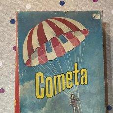 Juegos antiguos: ANTIGUA CAJA DE CARTON DE COMETA PARACAIDISTA / VACIA / AÑOS 70. Lote 286910923
