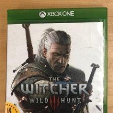 Juegos antiguos: JUEGO THE WITCHER WILD HUNT. XBOX ONE. DOBLE CD + FOLLETO. Lote 289223293