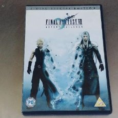 Juegos antiguos: FINAL FANTASY VII * ADVENT CHILDREN * 2006 DVD EXCELENTE 2 DISC EDICIÓN ESPECIAL,LENGUAJE ENGLISH. Lote 290098468