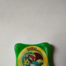 Juegos antiguos: TAZO WAPS- POKEMON --SALAMENCE--2003 NITENDO. Lote 293922343