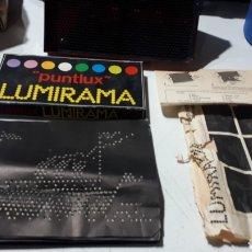 Juegos antiguos: JUEGO DE LUZ LUMIRAMA DE MADEL. Lote 295493673